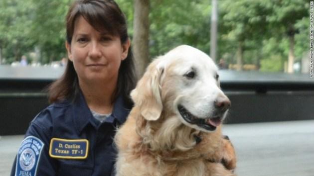 Bretagne last 9-11 terrorist attacks search and rescue dog put to sleep