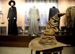 Sorting Hat at Harry Potter and Fantastic Beasts exhibit at Warner Bros Studio Tour Hollywood CA