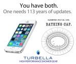 iphone Turbella shower cap patent invented 1903 AD GA