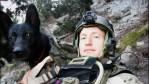 U.S. Army Ranger Hunter Donovan with military dog Nuke