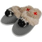 pug slippers from Animal Rescue Site