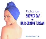 Best shhhower cap turban women long hair
