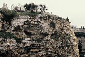 Golgotha, where Jesus was crucified