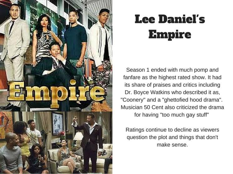 Lee Daniel's Empire