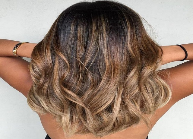 Valentine's Day Hairstyles For Balayage Hair Color