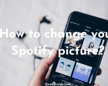 how to change spotify profile picture