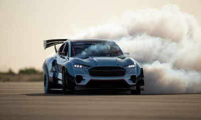 All-Electric Mustang Mach-E 1400 Prototype By Ford Performance And RTR Takes Racing, Drifting To New Levels