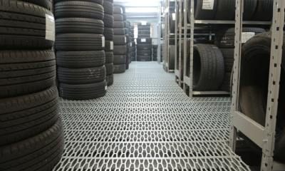 History of Black tires