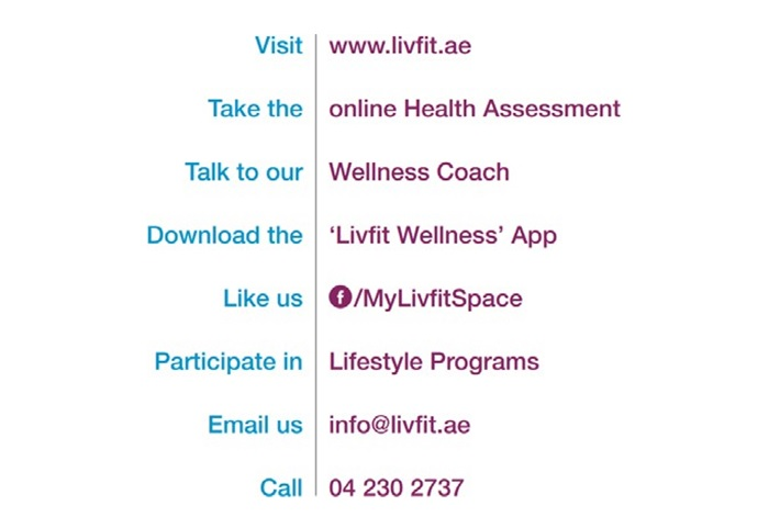 LivFit- A Comprehensive Wellness Programme by Oman Insurance Company