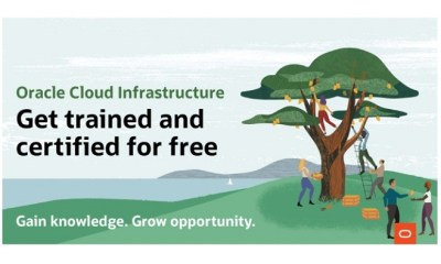 Oracle Offers Free Training and Certification for Oracle Cloud Infrastructure