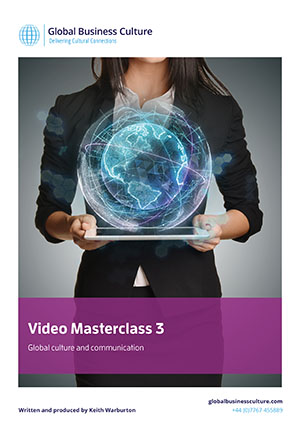 Global culture video masterclass 3