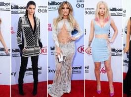 Rita Ora, Chrissy Teigen, Kendall Kardashian, Jennifer Lopez, Iggy Azalea, Mariah Carey and Taylor Swift