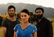 Margot Robbie Chris Pine Z for Zachariah