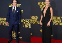Stephen Peacocke Margot Robbie Whiskey Tango Foxtrot Celebrity News