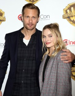 Alexander Skarsgard and Margot Robbie at CinemaCon 2016