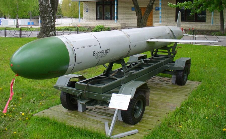 Vazduhoplovna krstareća raketa H-55 u muzeju Vazduhoplovnih snaga Ukrajine (foto: Wikipedia)