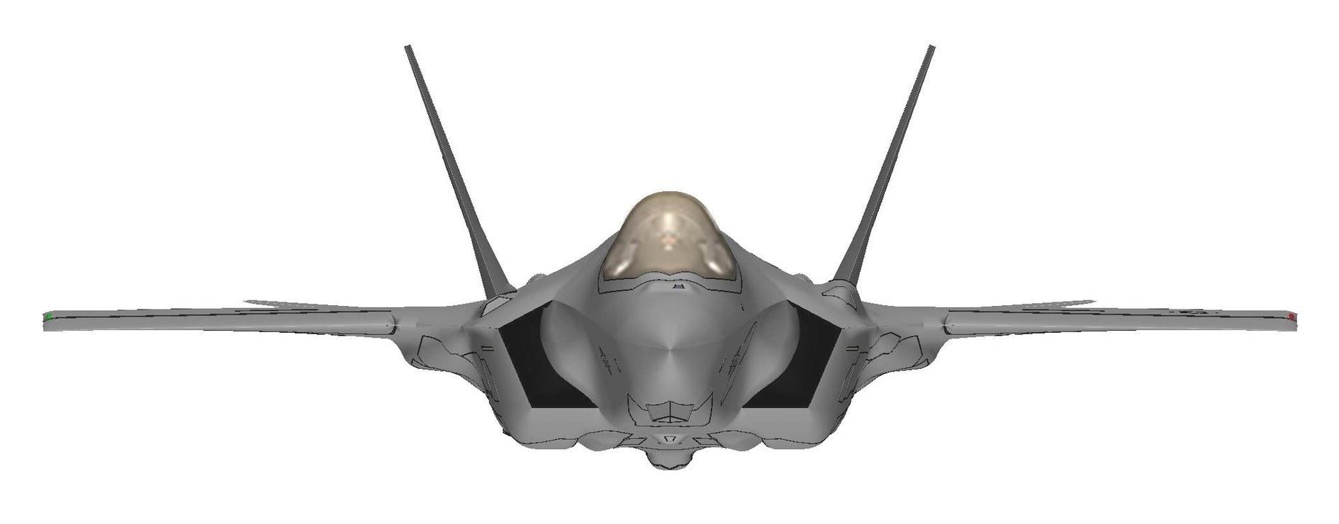F-35 Header