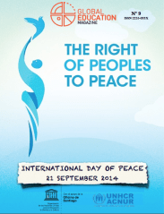 International Day of Peace, global education magazine, acnur, unesco, unhcr,