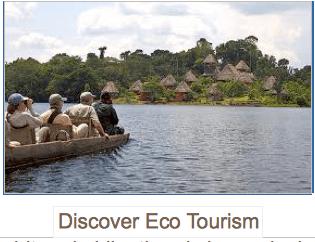Discover Eco Tourism, global education magazine