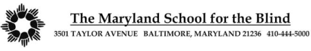 Maryland School for the Blind, global education magazine