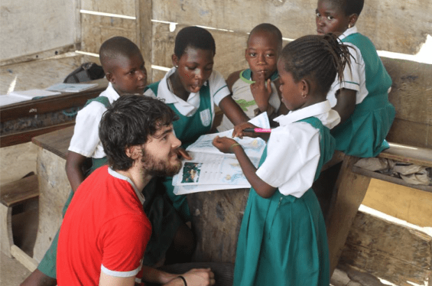 Dream Africa Care Foundation, Global education magazine, Ghana, Alex Medlicott,