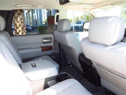 Export New 2015 Toyota Sequoia Platinum Silver On Beige
