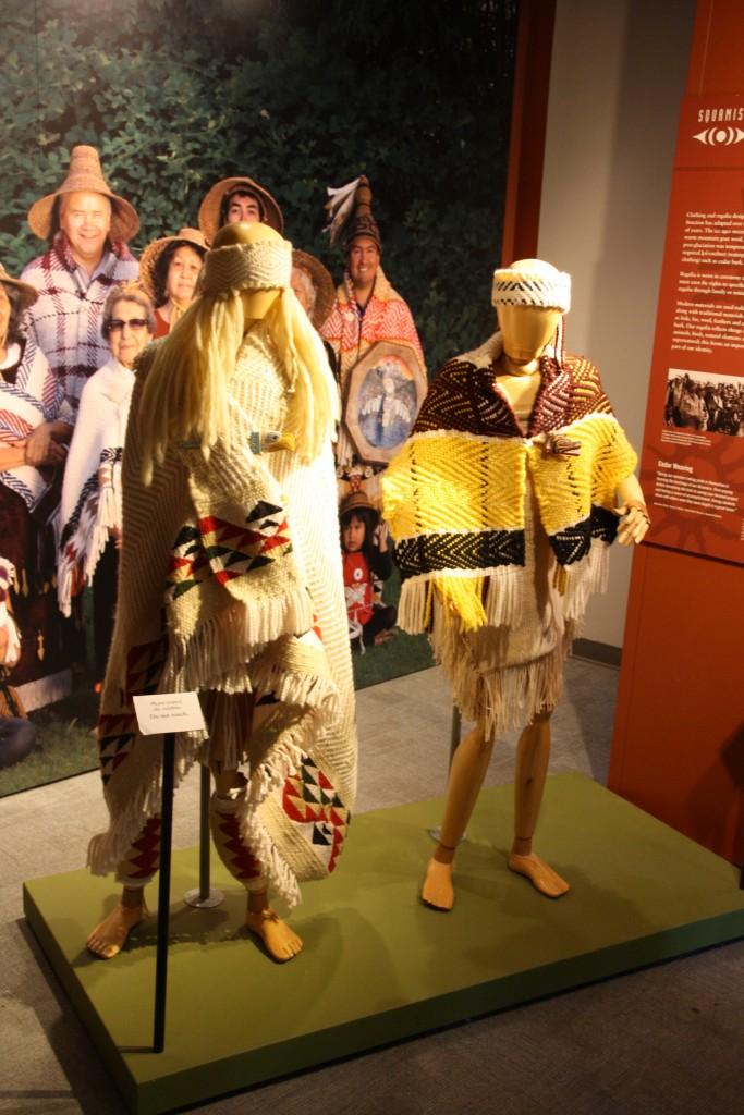 The Squamish clothing