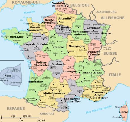 A map of the departments http://www.derietlandenexposities.nl/department-map-of-france.html
