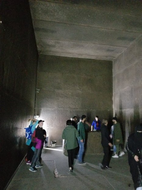 The burial chamber