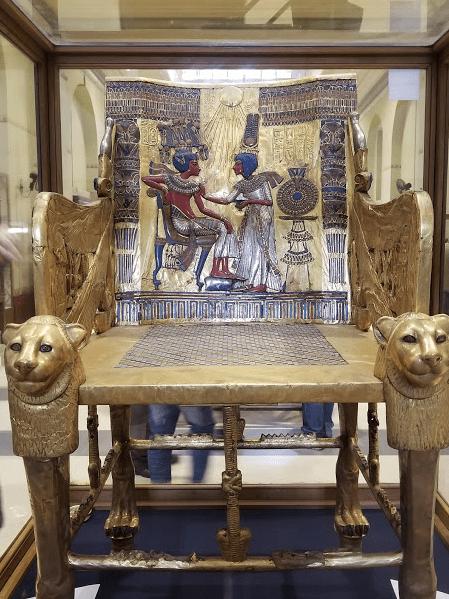 King Tutankhamun's Coronation Throne