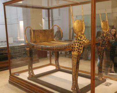King Tutankhamun's furniture