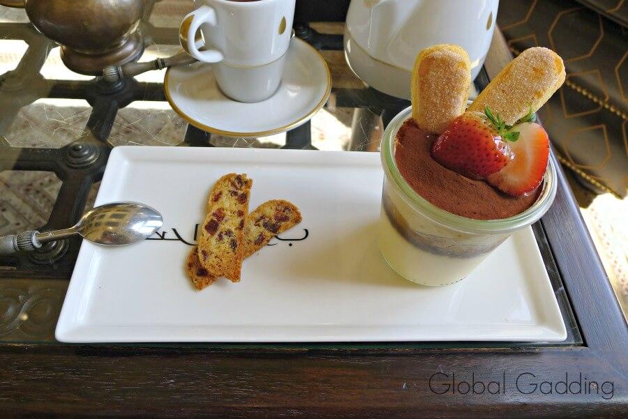 afternoon tea qasr al sarab resort