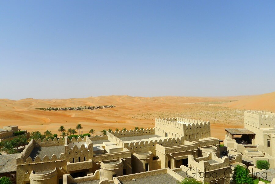 royal residence qasr al sarab resort