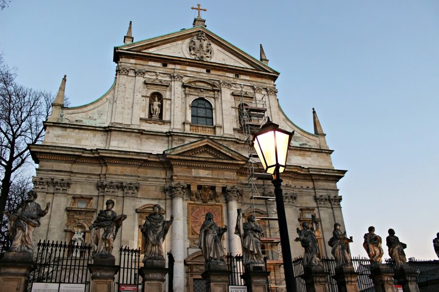 Church Of Saint Peter And Paul Krakow