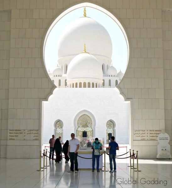 DOMES OF THE SHEIKH ZAYED GRAND MOSQUE