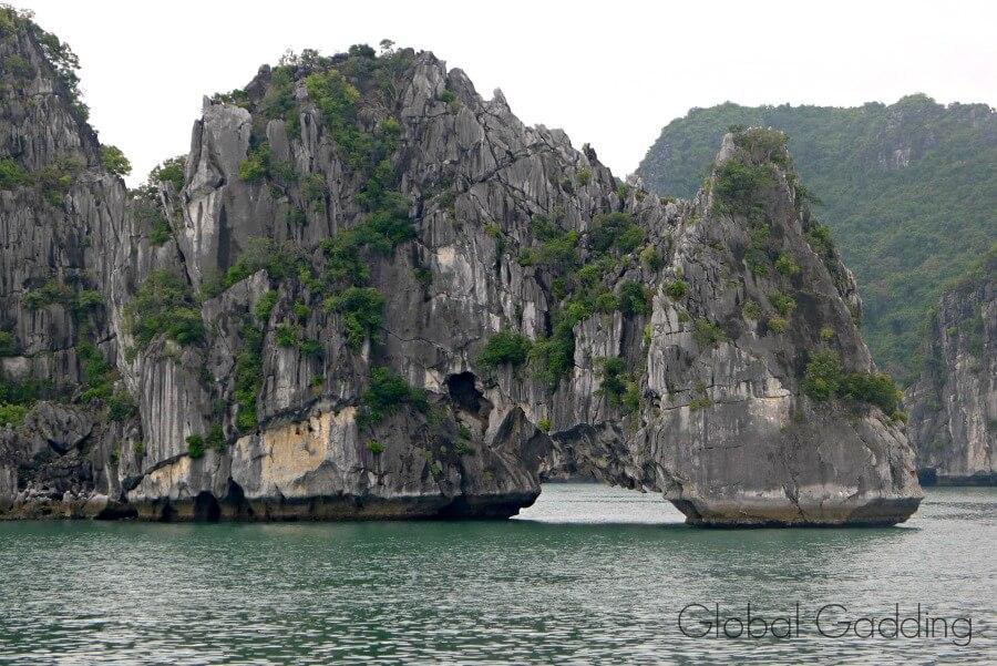 Halong Bay Limestone Karsts