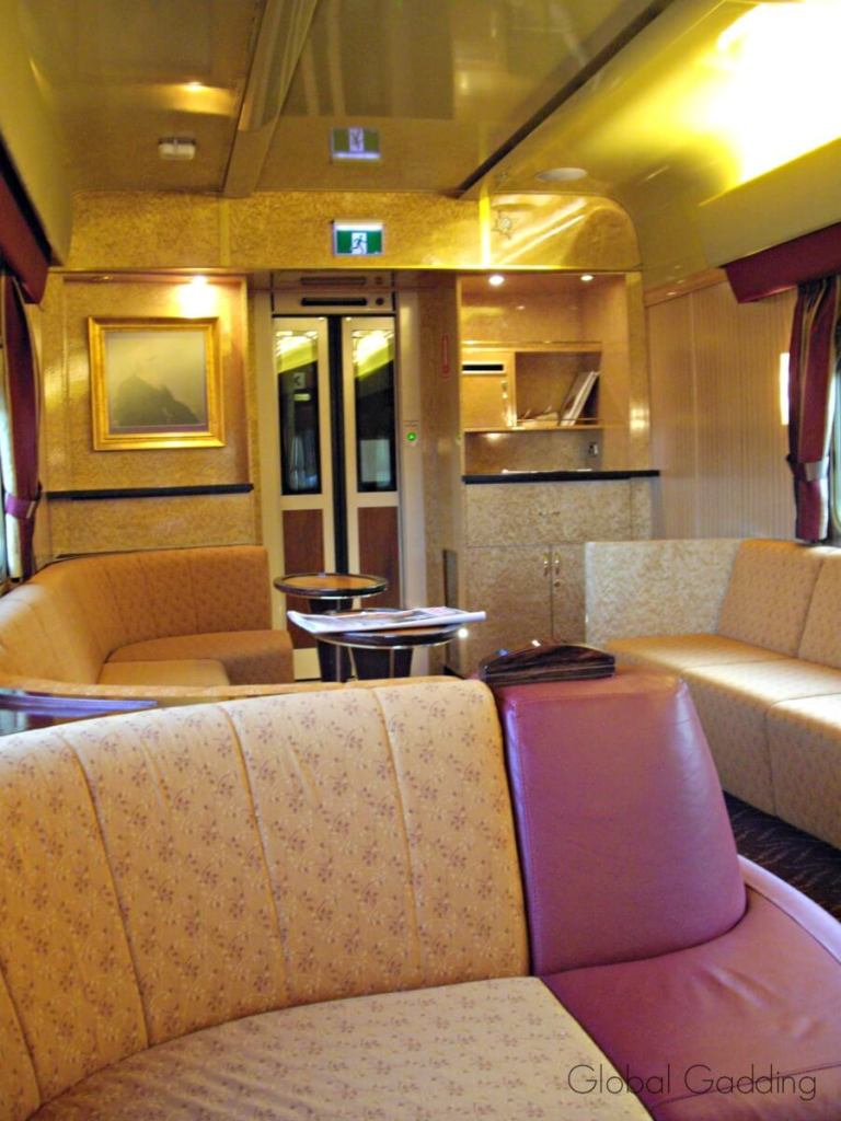 Lounge Indian Pacific Train