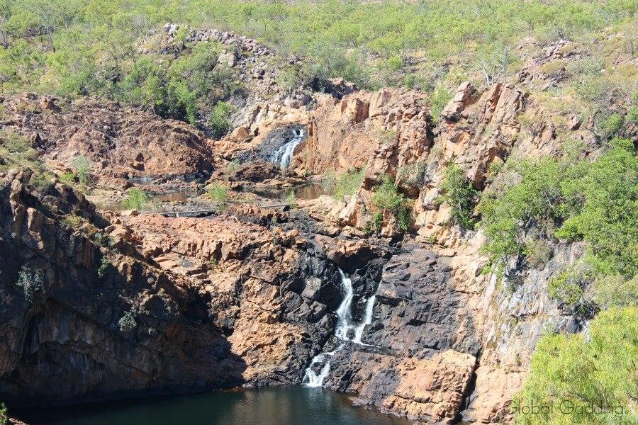 leliyn falls upper pool