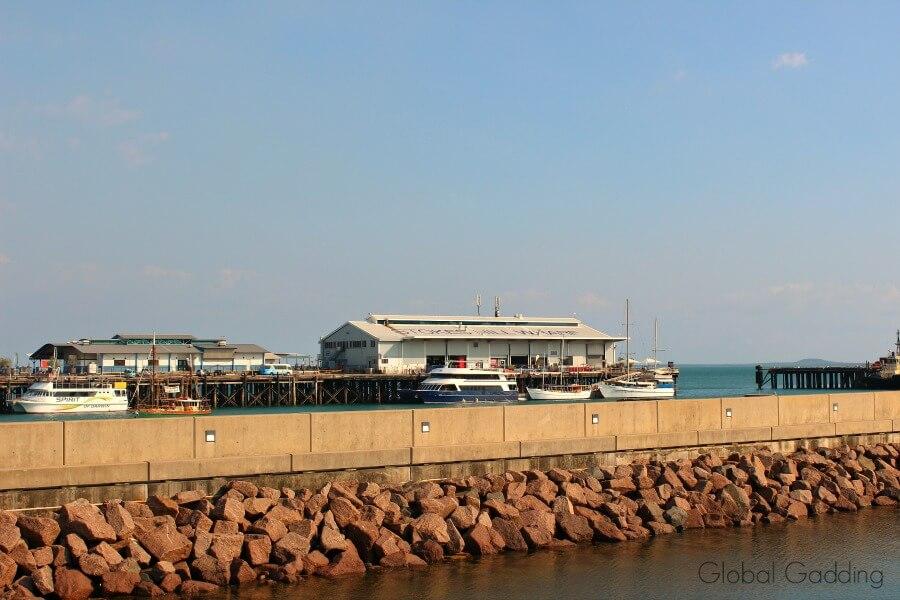 Stokes Hill Wharf Darwin