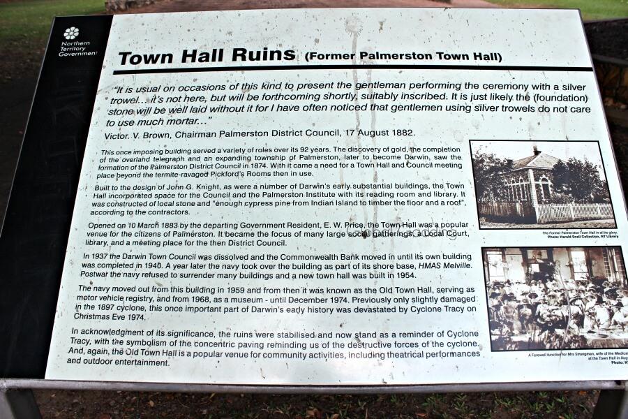 darwin town hall