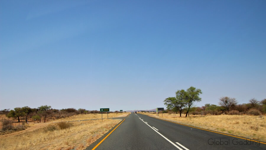 Namibia Roads Tarred