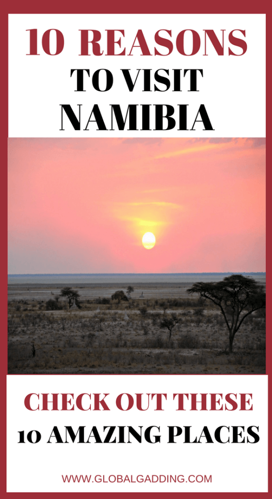 10 reasons to visit namibia