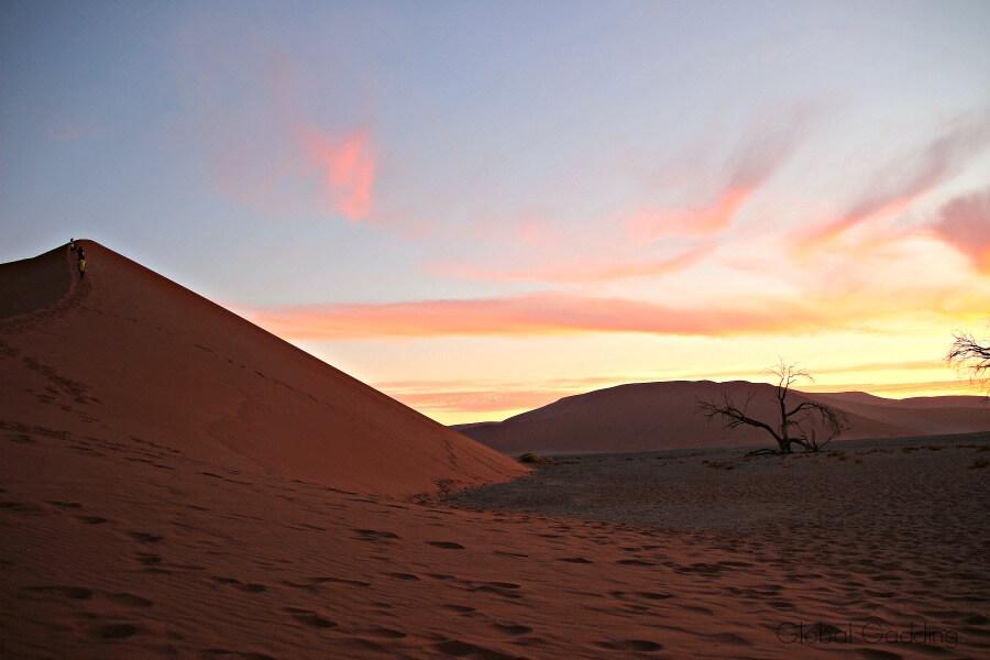 Sun Setting Dune 45 Sossusvlei