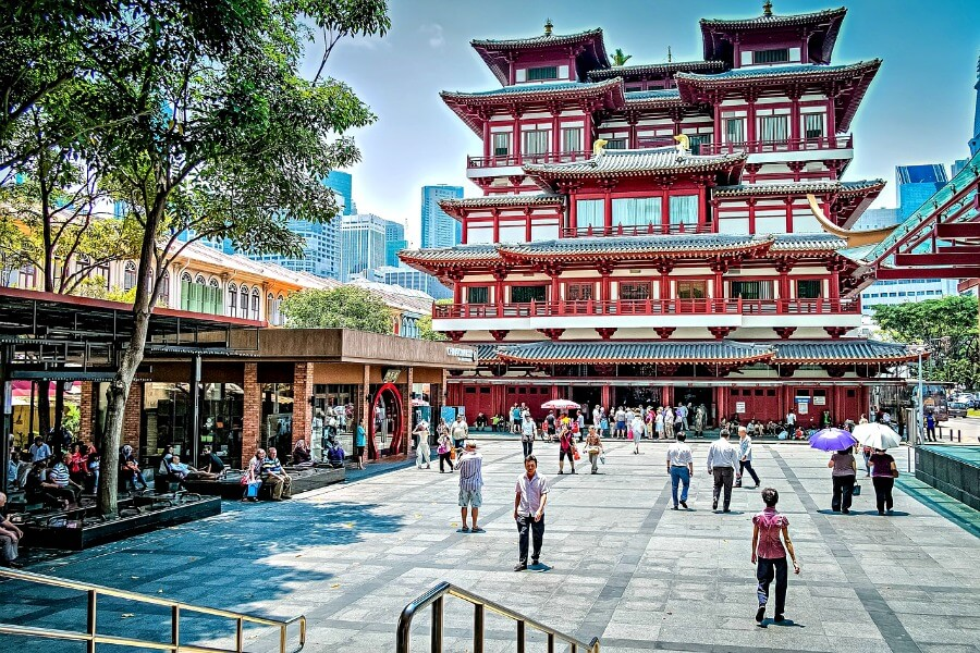 chinatown buddha tooth relic temple