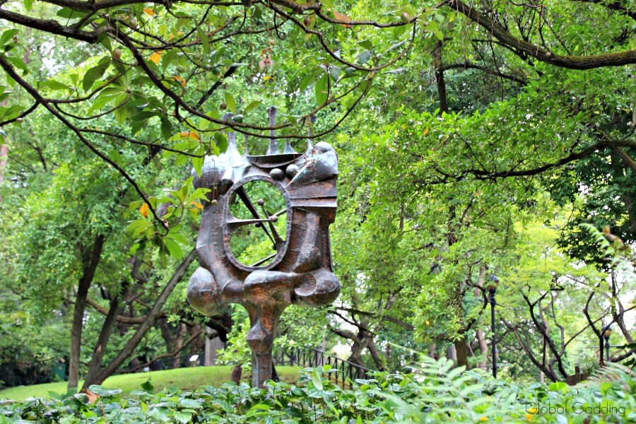 sculpures fort canning park