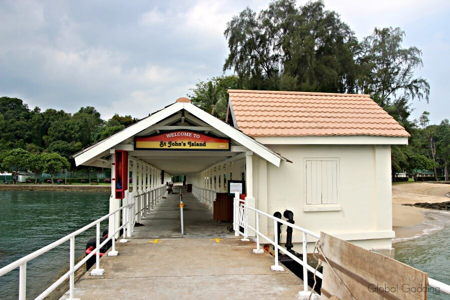 singapore's southern islands st john