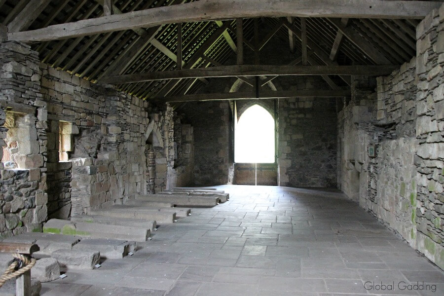 valle crucis abbey wales dormitory