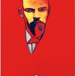 Andy Warhol Red Lenin - Home