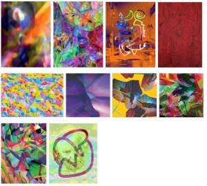 MICHAEL JANSEN Assymetrische Farberscheinungen assymetric colour phenomena - MICHAEL JANSEN - Assymetrische Farberscheinungen (assymetric colour phenomena)
