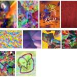 MICHAEL JANSEN Assymetrische Farberscheinungen assymetric colour phenomena - Varia